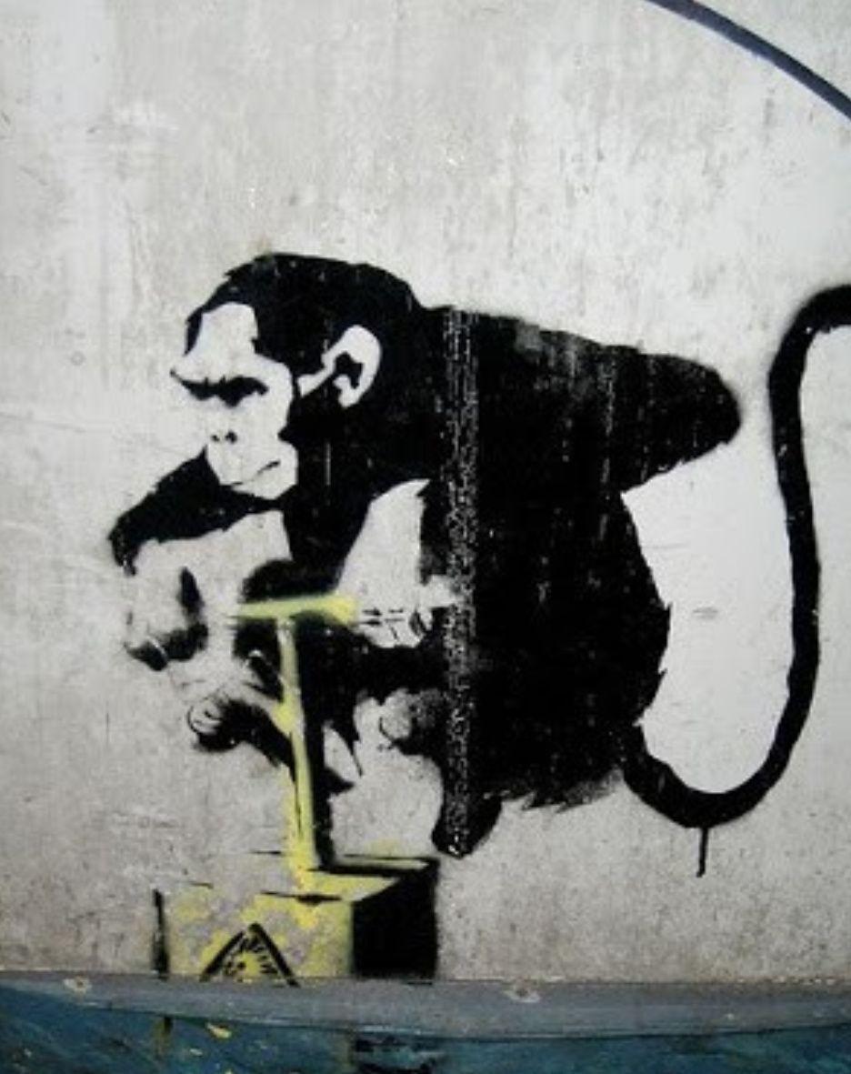 by Banksy | Appreciate Art | Banksy art, Street artists