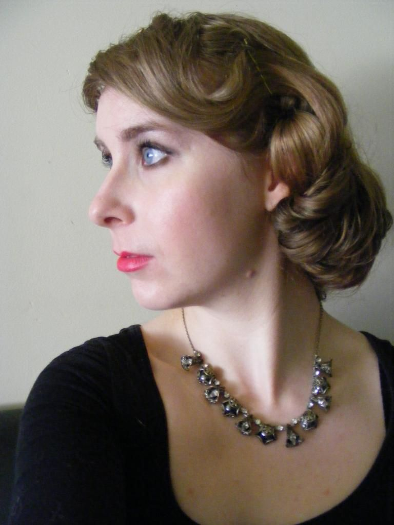 1920 Hairstyles Simple 1920′s Faux Bob Hairstyle  Nessbow  Beauty  Hair & Face & Nails