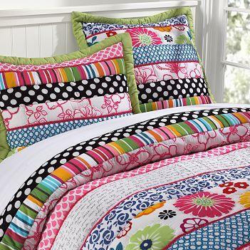 Pottery Barn Teen Dottie Quilt - NOT A LINK JUST AN IMAGE | Play ... : quilts for teens - Adamdwight.com