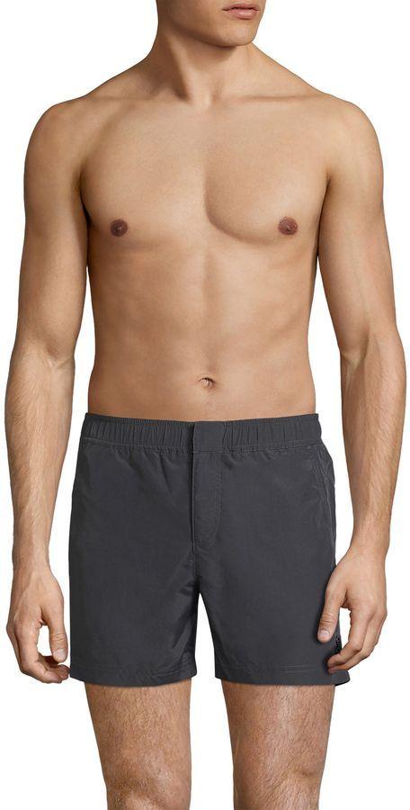 f7b2bd9d08 Ron Dorff Men's Slant Pocket Swim Trunks | Products | Swim trunks ...