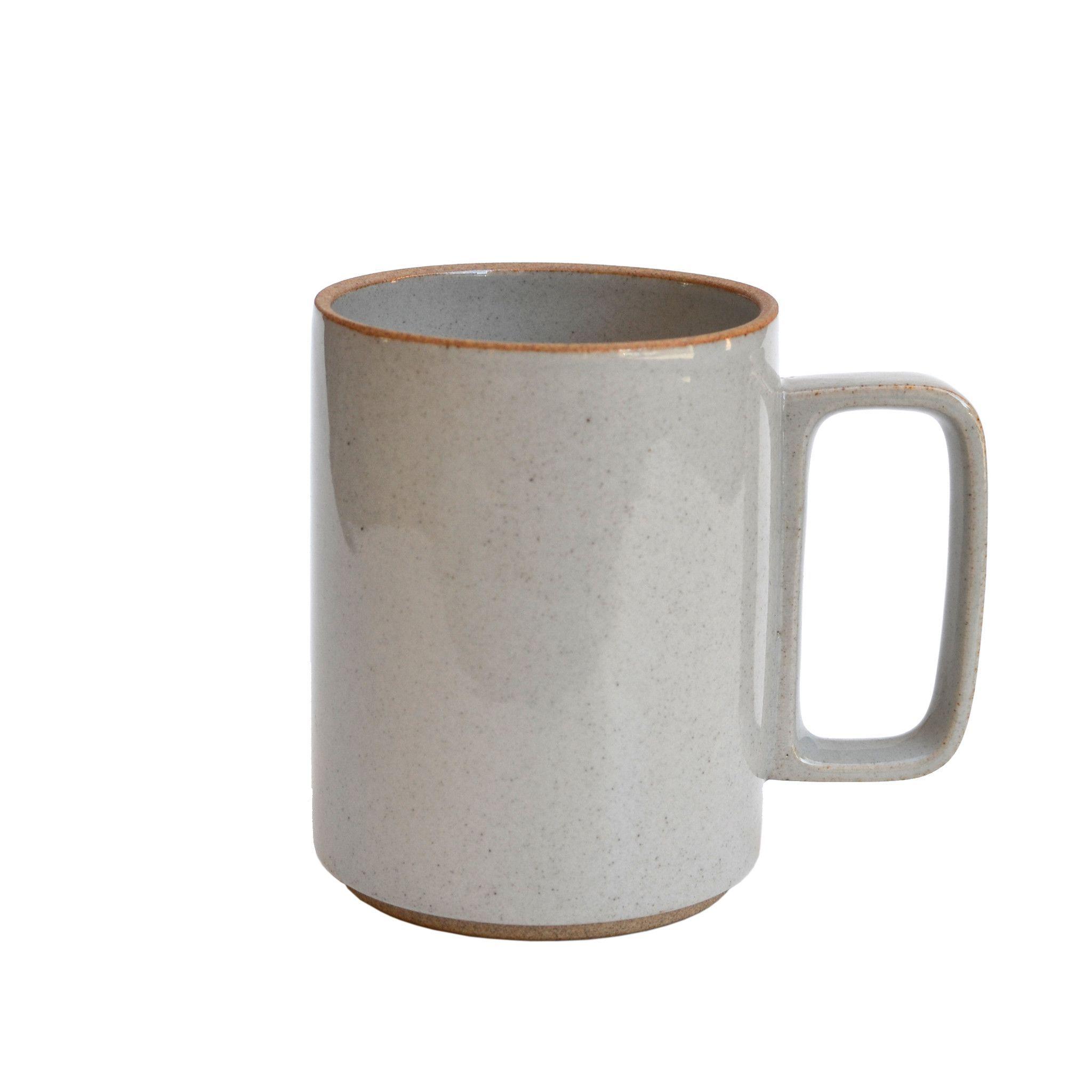 Hasami Gloss Gray Mug Large
