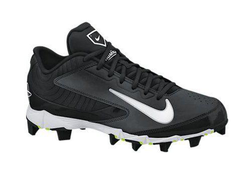 Men's Nike Huarache Keystone Low Molded Baseball Cleat Bl... https://