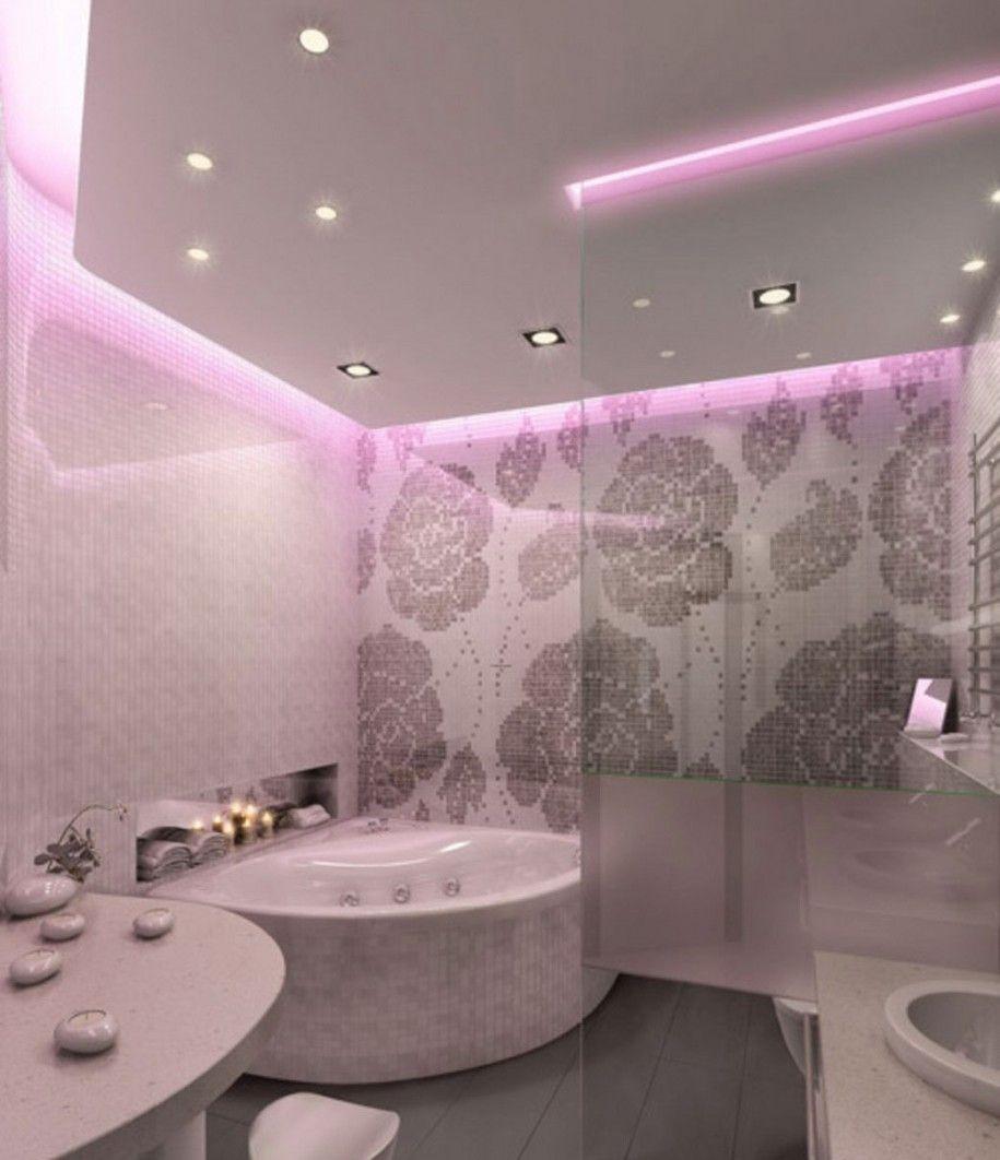 Small Bathroom Ideas U2013 Lighting For Small Bathroom : Small Romantic Bathroom  Lighting Ideas