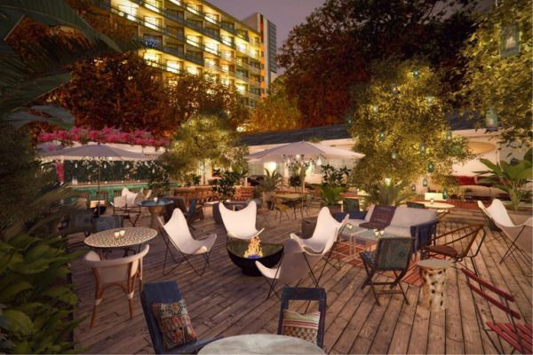 The Bungalow Restaurant Lounge Opening In Los Angeles