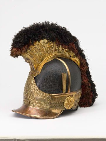 Horseguards helmet at Waterloo: