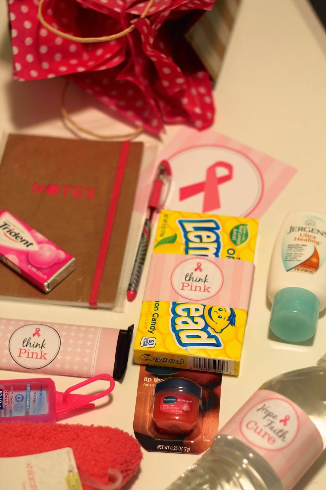 Frankly My Dear...: Think Pink {Chemo Care Kit}