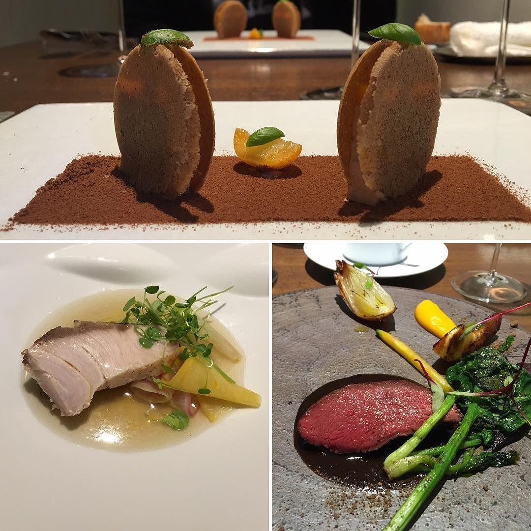 Sputnik Le le sputnik the mains top orange soaked foie gras thins