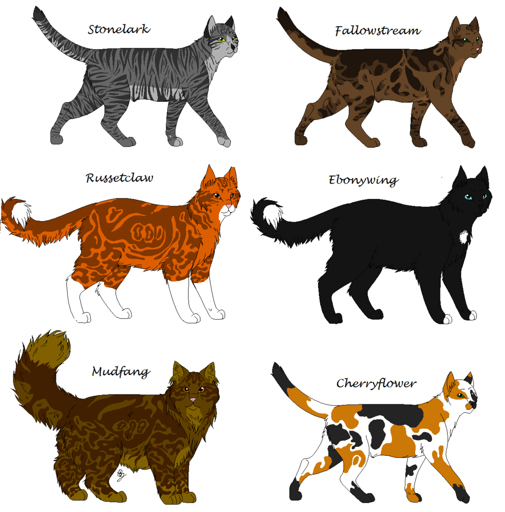 Warrior Cats Characters (With images) Warrior cats
