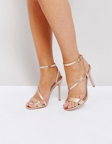 06998cbd9e7d On SALE at 62% OFF! Asymmetric Heel Sandals by Miss Kg. Shoes by Miss KG