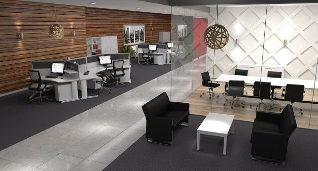 Open Plan Office Design Ideas Office Furniture Design Office