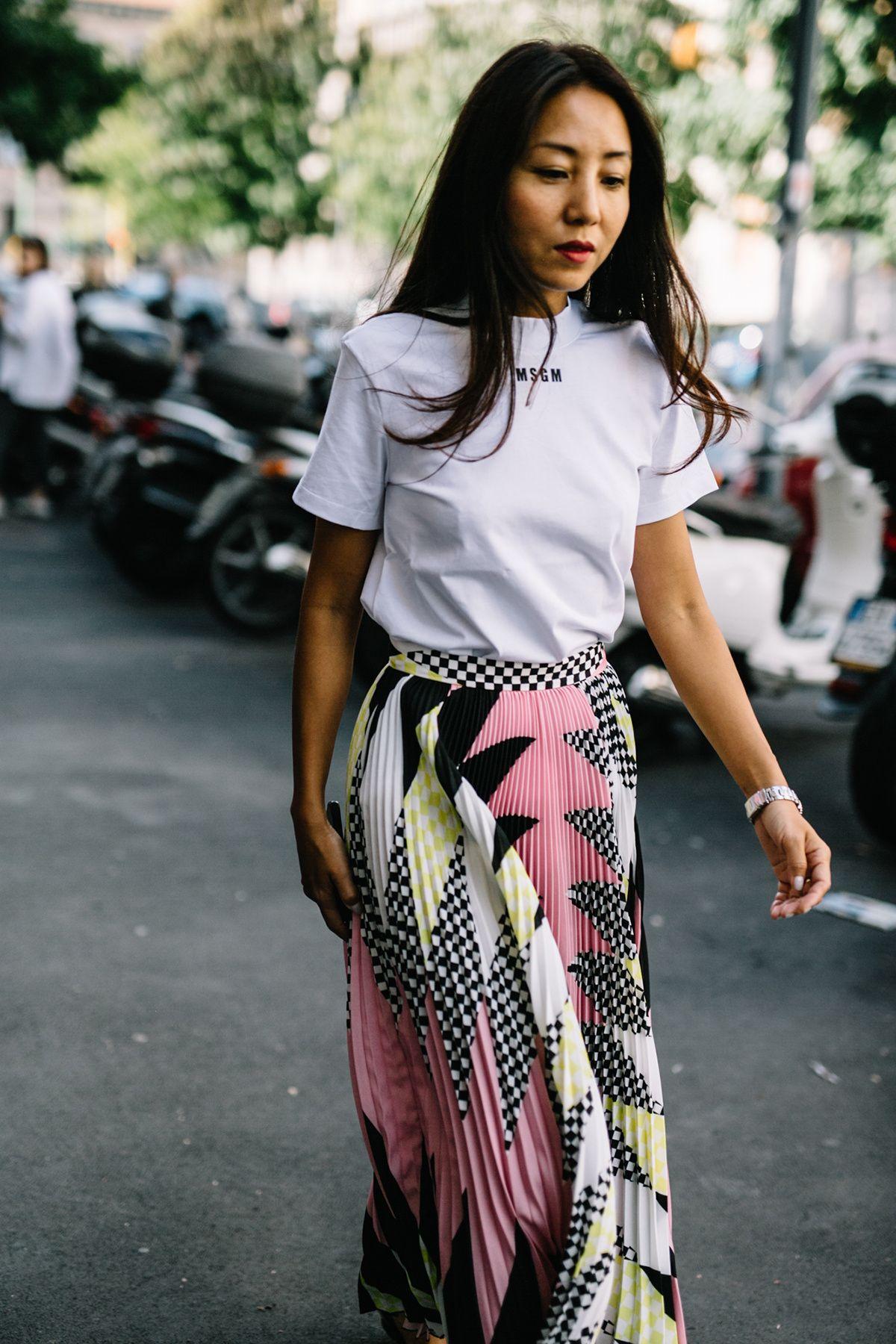 d67795ed40b6 street style milan fashion week primavera verano 2018 ...