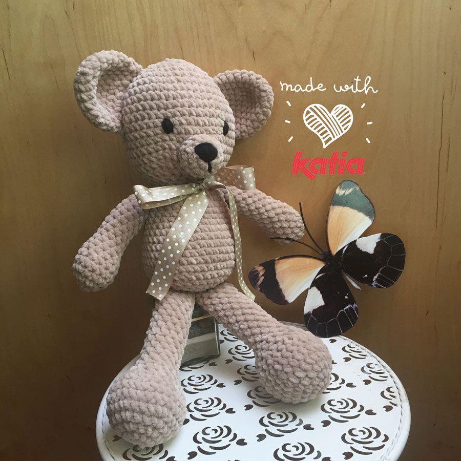 Amigurimi crochet Pattern from Bamby Bear make by Ana Alfonsín on ...