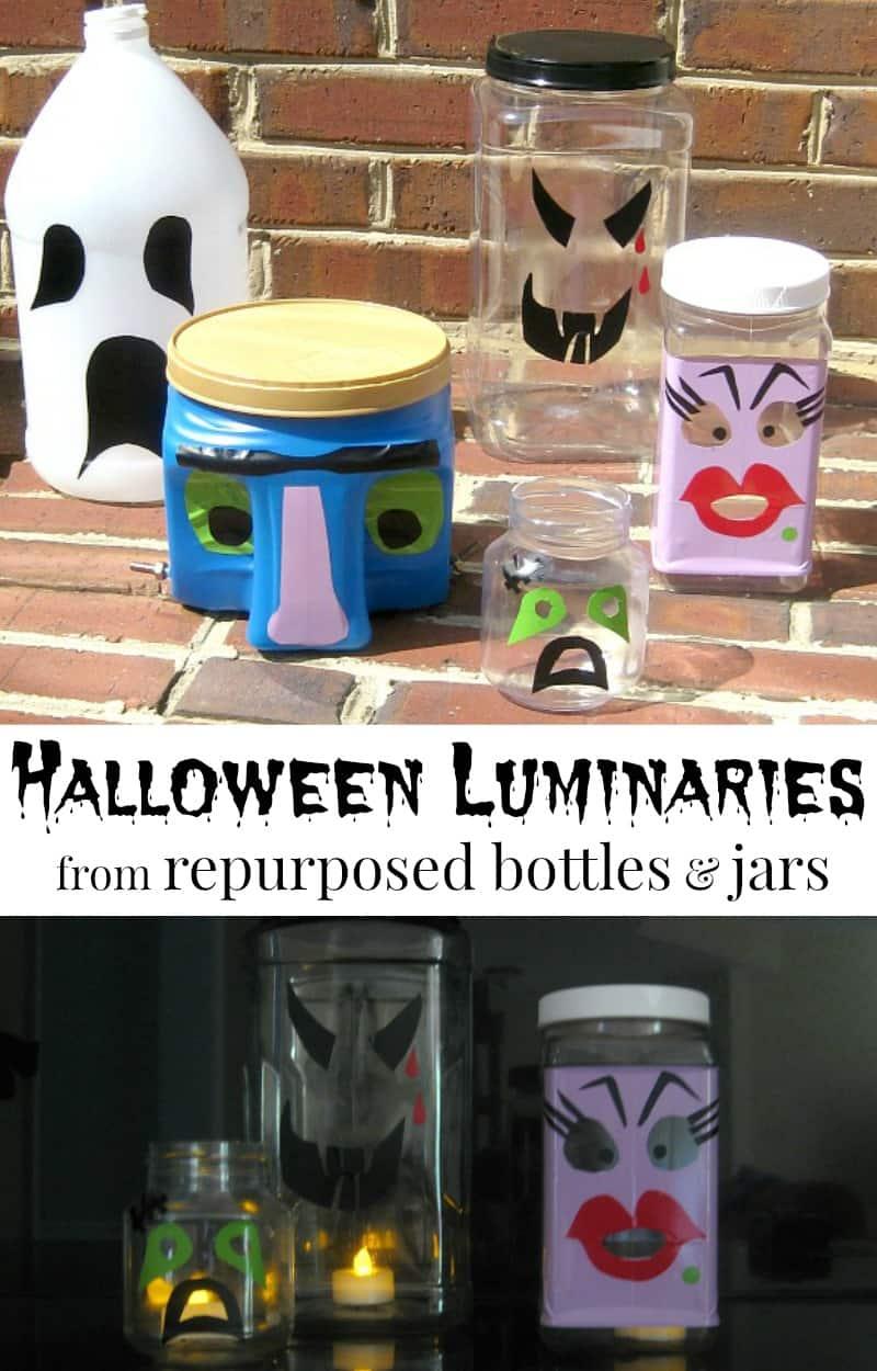 50+ Crafts by amanda halloween luminaries info