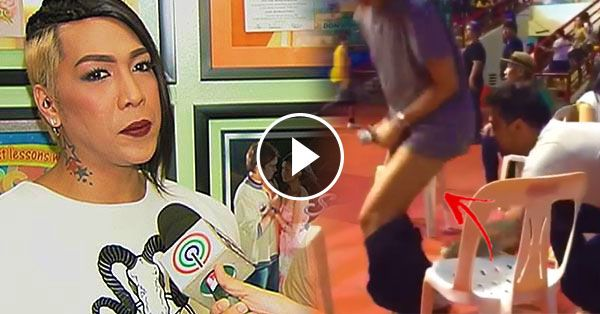[Trending Now] Billy Crawford Pulls Down The Pants Of Vice Ganda! Priceless!