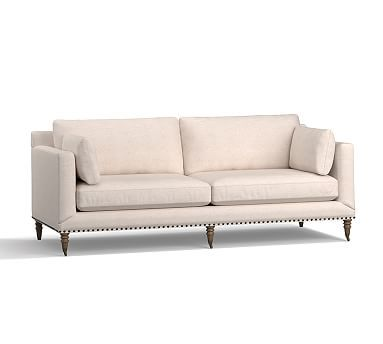 Tallulah Upholstered Loveseat 72 Down Blend Wrapped Cushions