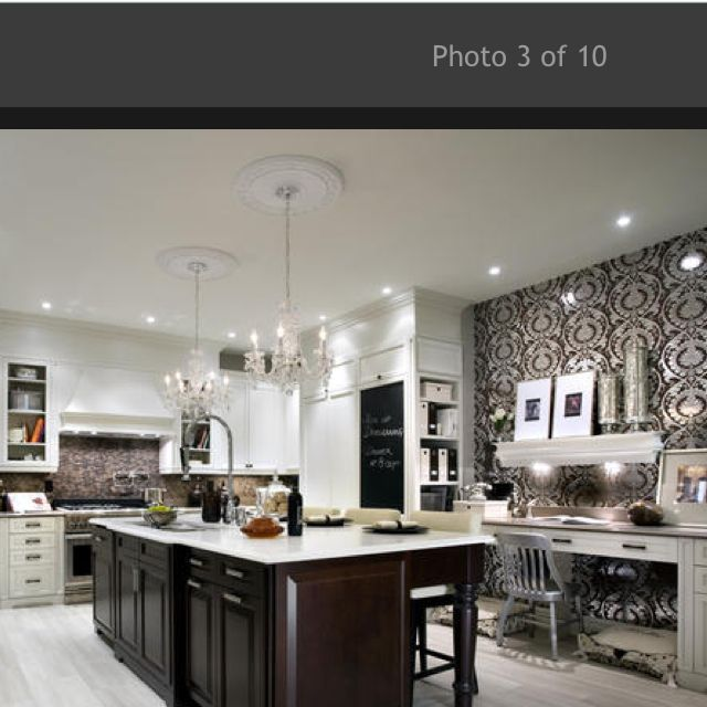 My Favourite Kitchen By Candice Olsen Love The Timber Island With