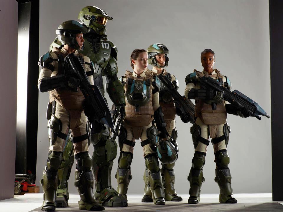 Halo Forward Unto Dawn Crew 2012 Halo 4 Halo Combat Evolved