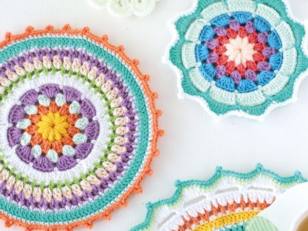 Arte Friki: Mandala a Crochet: 10 Patrones Gratis | Crochet patrones ...