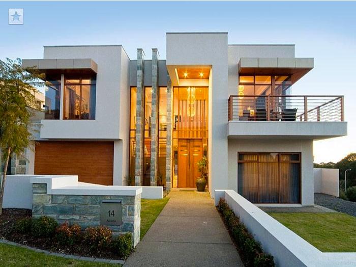 Facade villa moderne | Model ᕼᗢuse | Pinterest | Facades and Villas