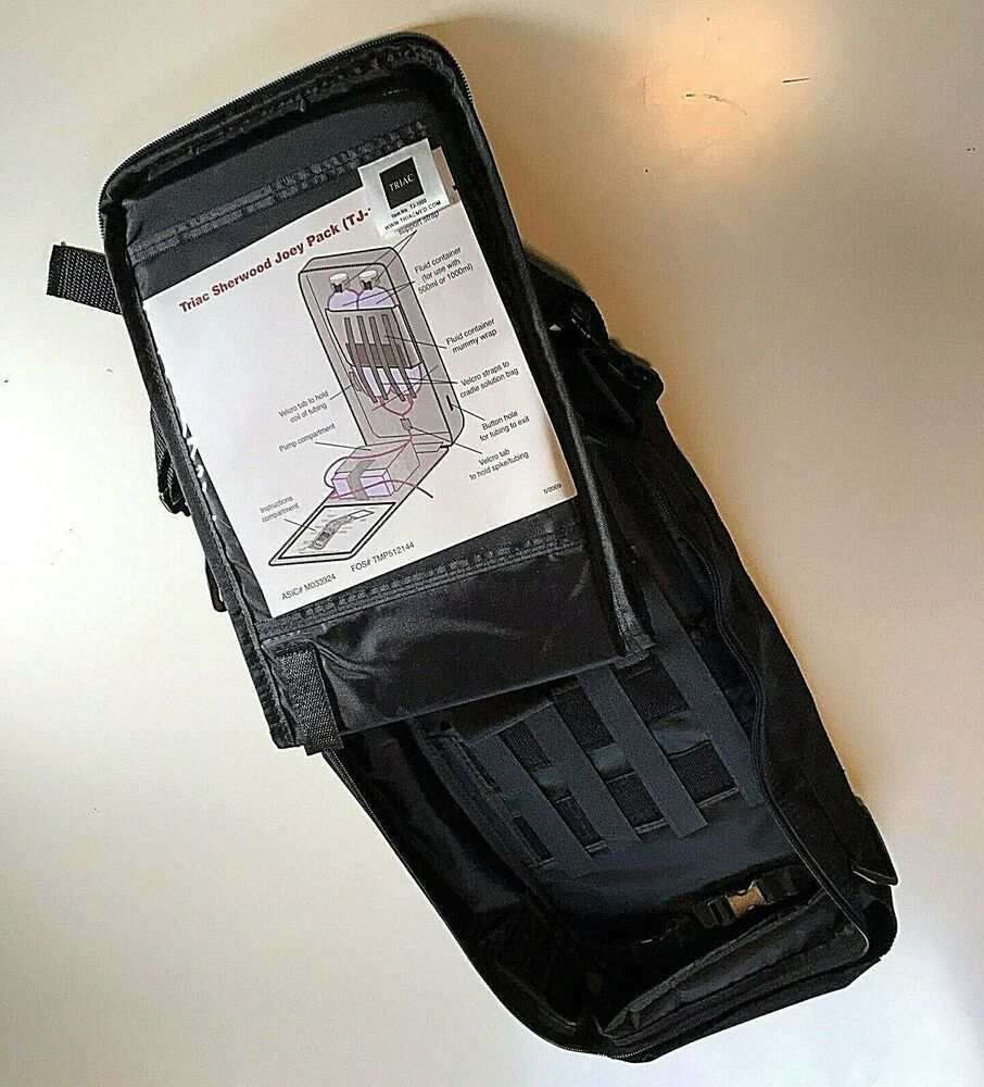 807d048465c Triac Sherwood Joey Pack TJ-1000 Enteral Pump Backpack Kangaroo Tube  Feeding  Triac