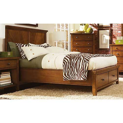 Aspen Home Cross Country Queen Panel Storage Bed 1678 00 Usd