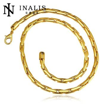 Trendy Gold Chain For Men Jewelry Wholesale Rose GoldPlatinum18k