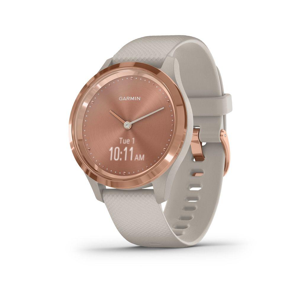 Garmin Vivomove 3 Smartwatch In 2020 Smart Watch Rose Gold Gold Hardware