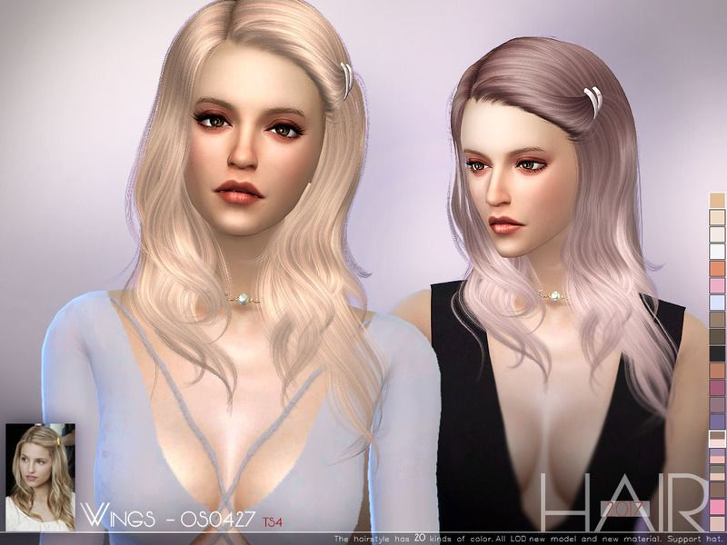 The Sims Resource: WINGS OS0427 hair  - Sims 4 Hairs - http://sims4hairs.com/the-sims-resource-wings-os0427-hair/