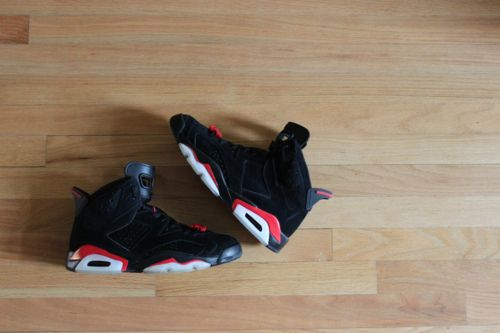 6's - infrared - classic J's that MJ wore when winning his first title