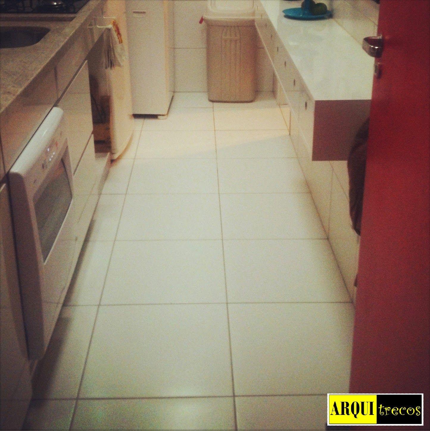 Minha Cozinha Adeus Piso Branco Bem Vindo Piso Vinilico Tudo