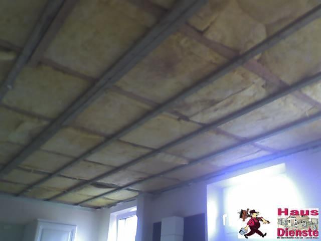2009 (Kunde)   WASSERSCHADEN  komplette neue Decke musste gezogen werden, der Clou, 2 Sternenhimmel Beleuchtungen einzubauen!    und viele weitere Dinge!