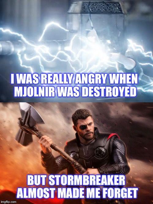 Captain America Thor Hammer Meme