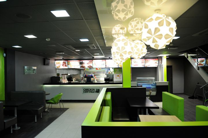 Chicken Cottage Fast Food Restaurant By Retail Mark Design Oldham Hotels And Restaurants