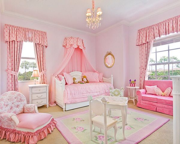 Bedroom Ideas With Pink Princess Bedroom Theme Girly Bedroom