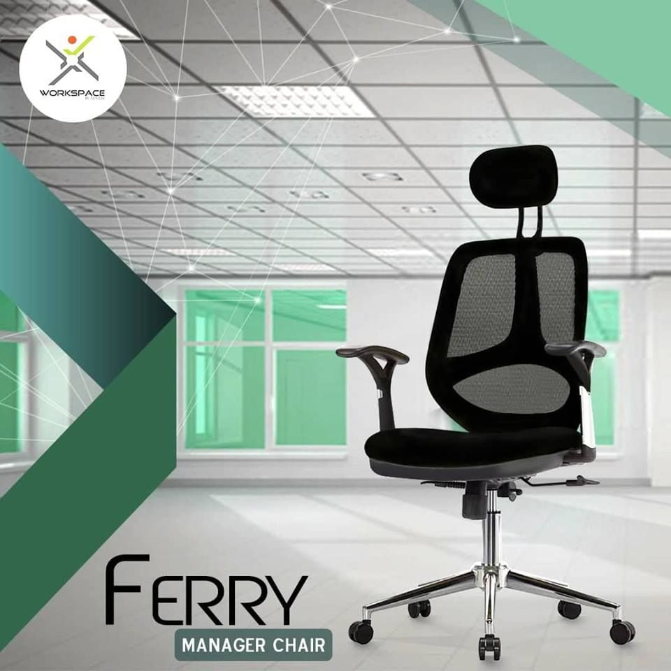 Ferry Manager Office Chair By Workspace Pakistan Multi