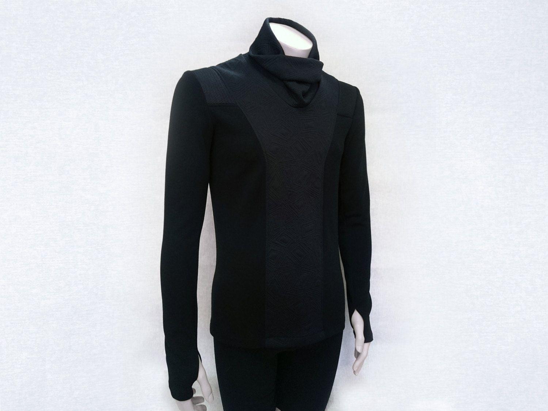 Cyberpunk Men's sweater turtleneck avant garde jumper sleeves with ...