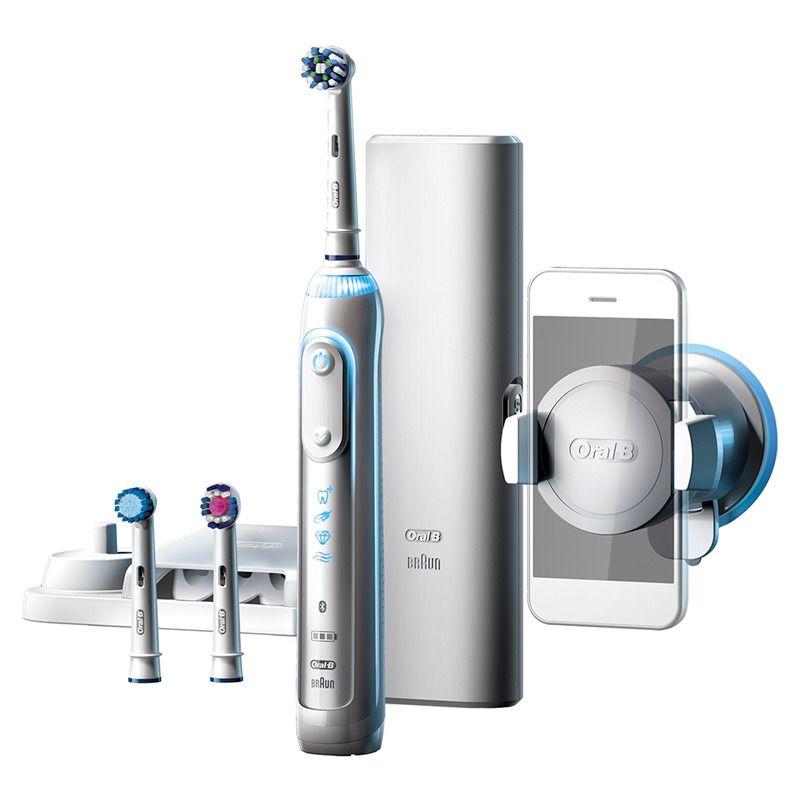 Electric Toothbrush Oral B Genius Braun Rechargeable Bluetooth 5 Brushing Modes Brushing Teeth Oral B Electric Toothbrush
