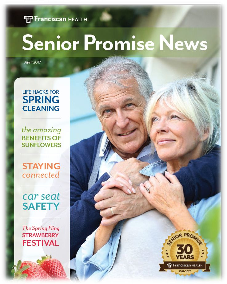 Senior Promise news Staying connected, spring cleaning