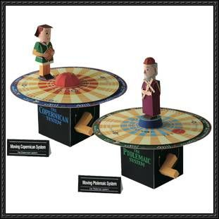 Canon Papercraft Moving Copernican System Moving Ptolemaic