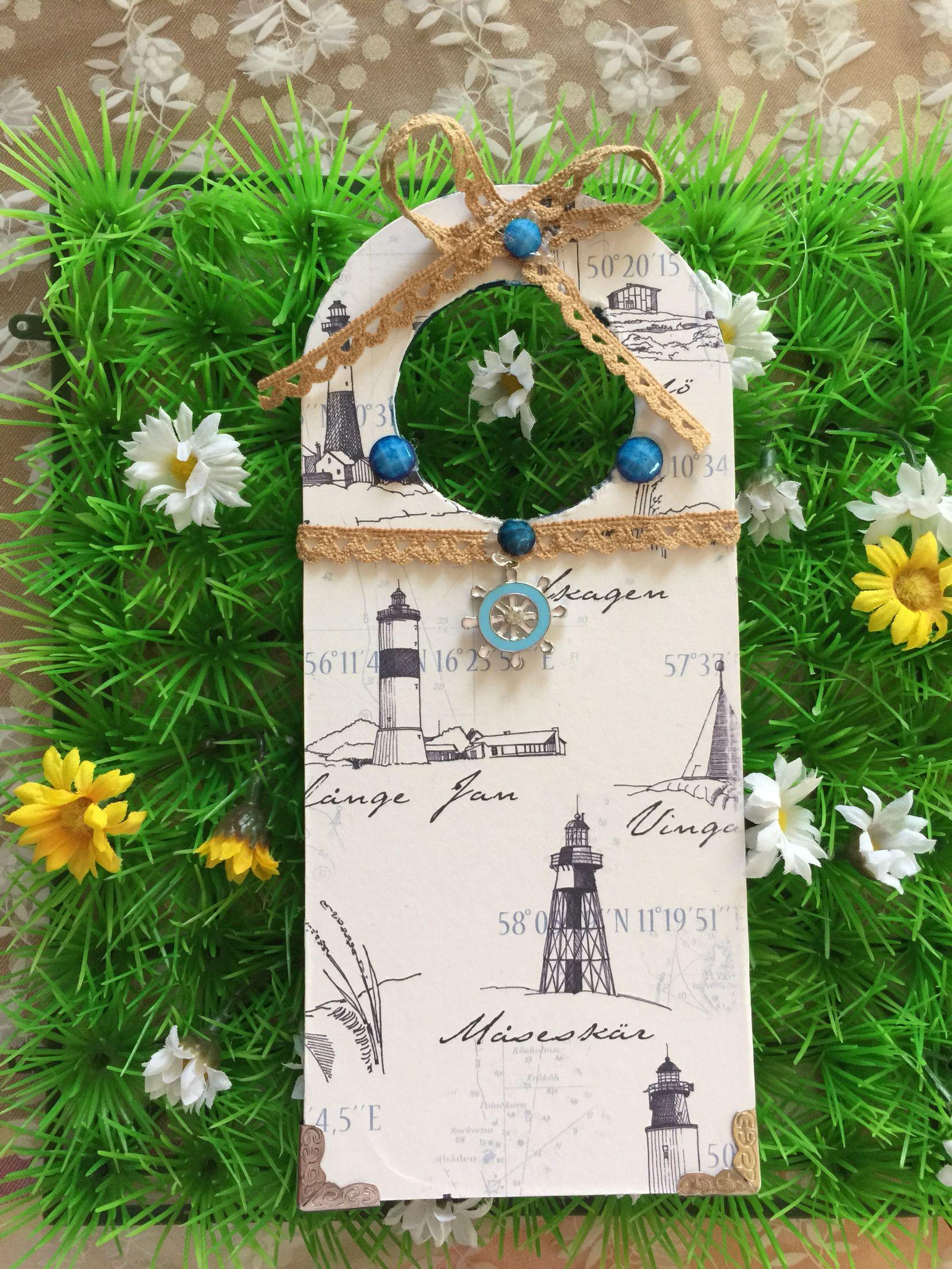 Handmade door decoration
