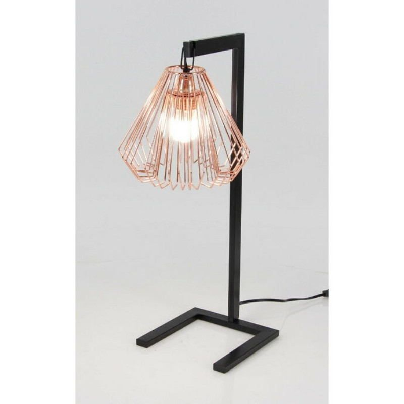 Fashionable small metal wire table lamp with copper holder bold and bold and beautiful is what defines this fashionable metal wire table lamp in the best way its unique shape of copper bulb holder and size makes it perfect keyboard keysfo Gallery