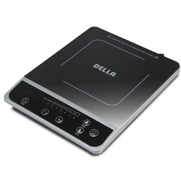 Elegant DELLA 1800W Portable Induction Cooktop Countertop (1) Single Burner Touch  Screen, Black