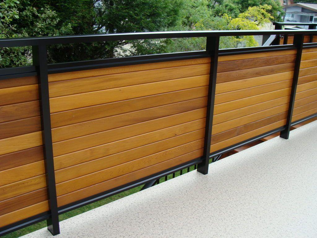 Dek Rail aluminum deck railing frames with full or semi ...