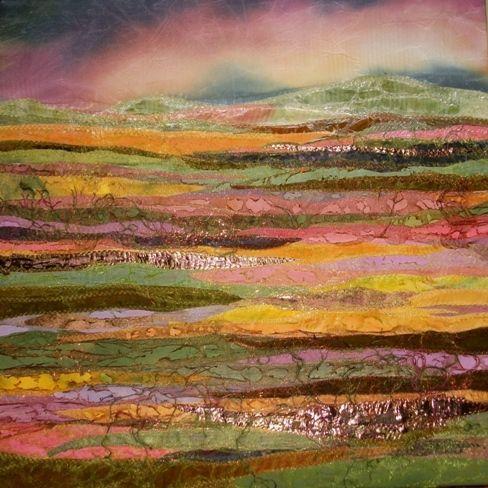 Sunset Judith Reese Textile Design Art Quilts Art
