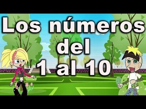 La Canción De Los Números Canciones Infantiles Del 1 Al 10 Preescolar On Viewpure Classroom Songs Bilingual Songs Spanish Songs