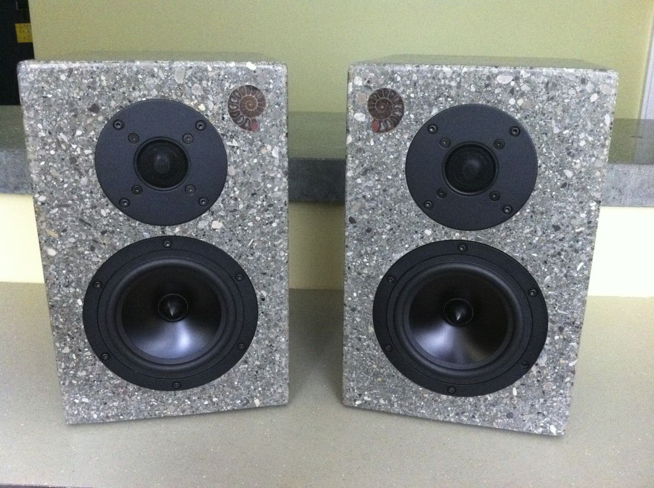 Skema box speaker woofer search results woodworking project ideas - Concrete Speakers Project