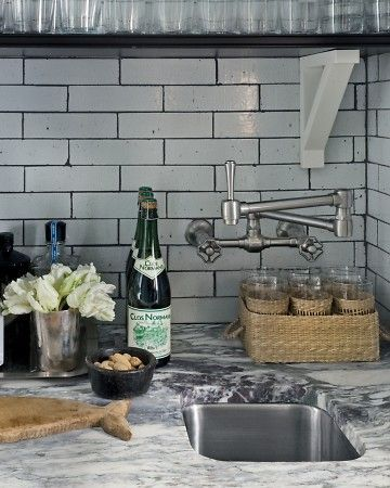 Subway Tiles These Distressed Tiles Work In Large Or Small Doses