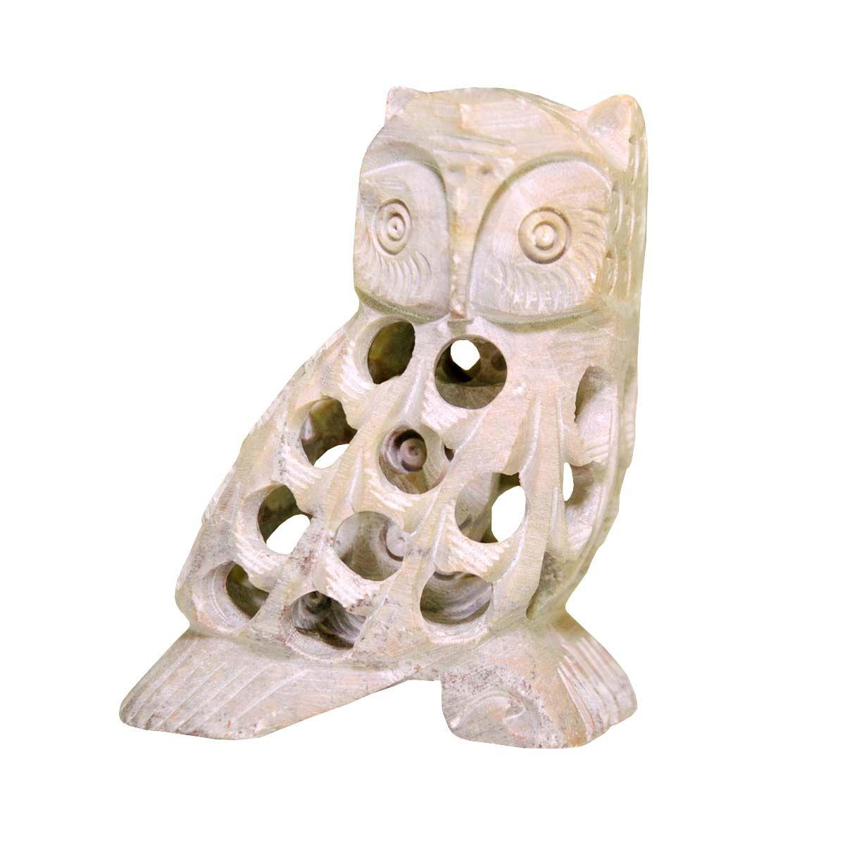 Wholesale Owl Figurine U0026 Statue   Buy In Bulk Handmade 3u201d Soapstone  Filigree Owl Sculpture · Home Office DecorWhite ...