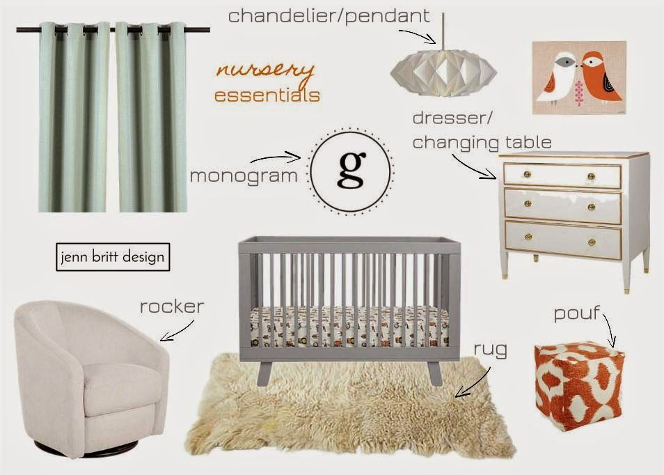 Simply Life Design Nursery Essential List
