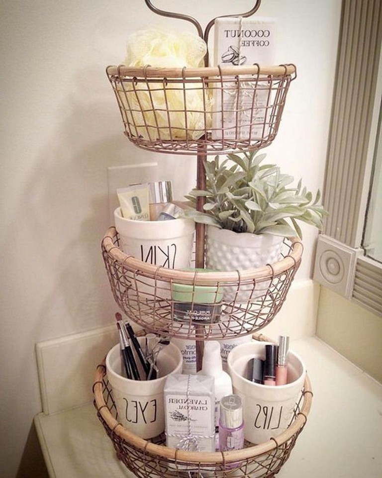 Photo of 40+ Stunning Bathroom Organization Ideas